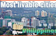 Top 15 most livable cities in the Philippines